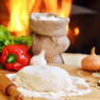 Pizza dough — Stock Photo #16993861