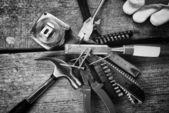 Verschillende instrumenten — Stockfoto