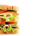 Tasty sandwich — Stock Photo #17590855