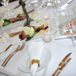 Stock Photo: Wedding dinner