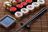 Sushi japonés tradicional — Foto de Stock