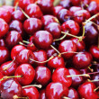 Stock Photo: Freshly cherries