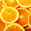 Background made of juicy oranges - Stock Photo