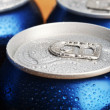 Wet aluminium can — Photo