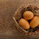 Chicken eggs — Stock Photo #21713397