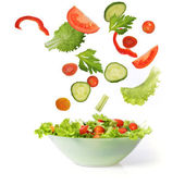 Salad with vegetable — Stock Photo