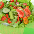 Salad with vegetable - Stock Photo