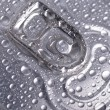 Wet aluminium can — Stockfoto #22618223