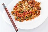 Steamed vegetables — Stock Photo