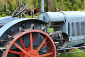 Antique tractor — Stock Photo
