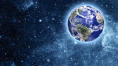 Niebieskiej planety w piękne miejsce — Zdjęcie stockowe