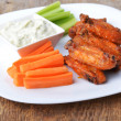 Chicken wings - Stock fotografie