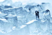 Ice cubes close up — Stock Photo