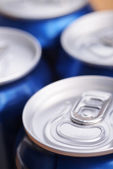 Aluminium can with drink — Stock Photo