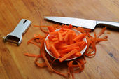 Freshly carrots — Stock Photo