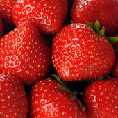 Red strawberry — Stockfoto