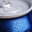 Foto de Stock  : Wet aluminium can
