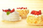 Small cakes — Stock Photo