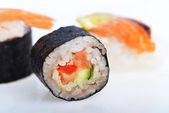 Fresh sushi rolls — Stock Photo