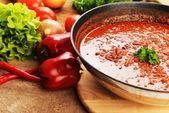 Hot chili con — Stock Photo
