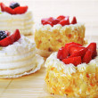Small  cakes — Stock Photo