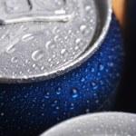alluminio bagnato può — Foto Stock #26027711