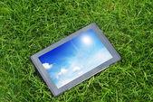 Generic tablet computer — Stock Photo