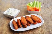 Ali di pollo — Foto Stock