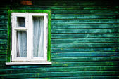 Old-fashioned window — Stock Photo