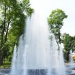 Central fountain — Stock Photo