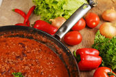 Hot chili con — Stock Photo