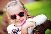 Cute little girl — Stock Photo