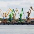 Port cranes — Stock Photo #34313819