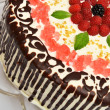 ������, ������: Cake with raspberry