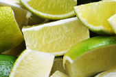 Ripe fruit lime — Stock Photo