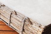 Eski kitap açık — Stok fotoğraf