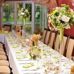 Wedding reception — Stock Photo