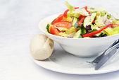 Salada de vegetais frescos — Fotografia Stock
