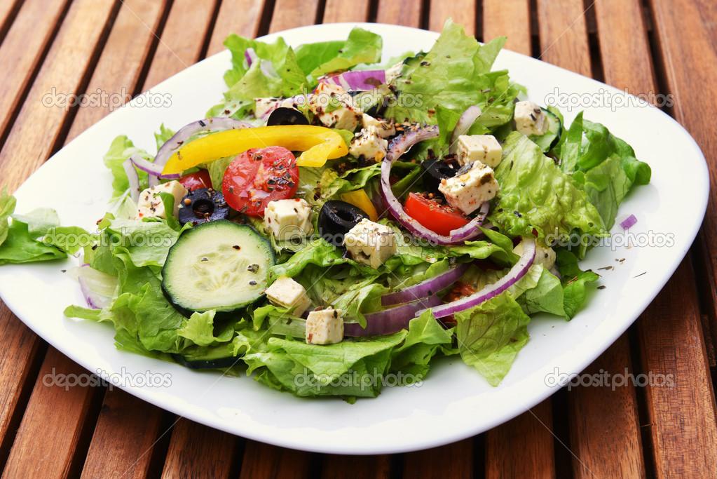 салаты со свежими овощами рецепты с фото