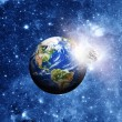 Planet earth in space — Stock Photo #36826237