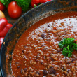 Hot chili con — Foto Stock