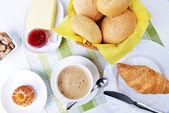早餐的食物 — 图库照片