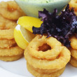 Fried onion rings — Stock Photo #37780297