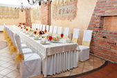 Wedding reception — Foto Stock