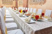 Düğün resepsiyonu — Stok fotoğraf