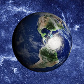 Planet Earth. Elements of this image furnished by NASA — Stock Photo