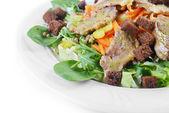 Salad of marinated pork — Foto de Stock