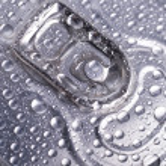 alluminio bagnato può — Foto Stock #41040363