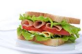 Gustoso panino — Foto Stock