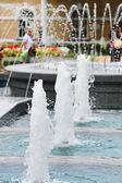 Fontaine dans le parc — Photo